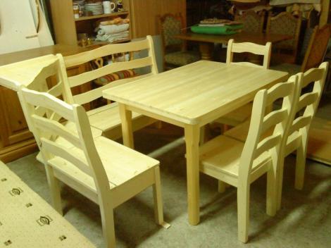 Konyhai asztal, szék
